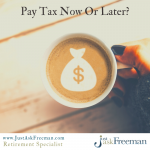 MOST TAX-EFFICIENT WAY TO TAKE A DISTRIBUTION FROM A RETIREMENT PLAN
